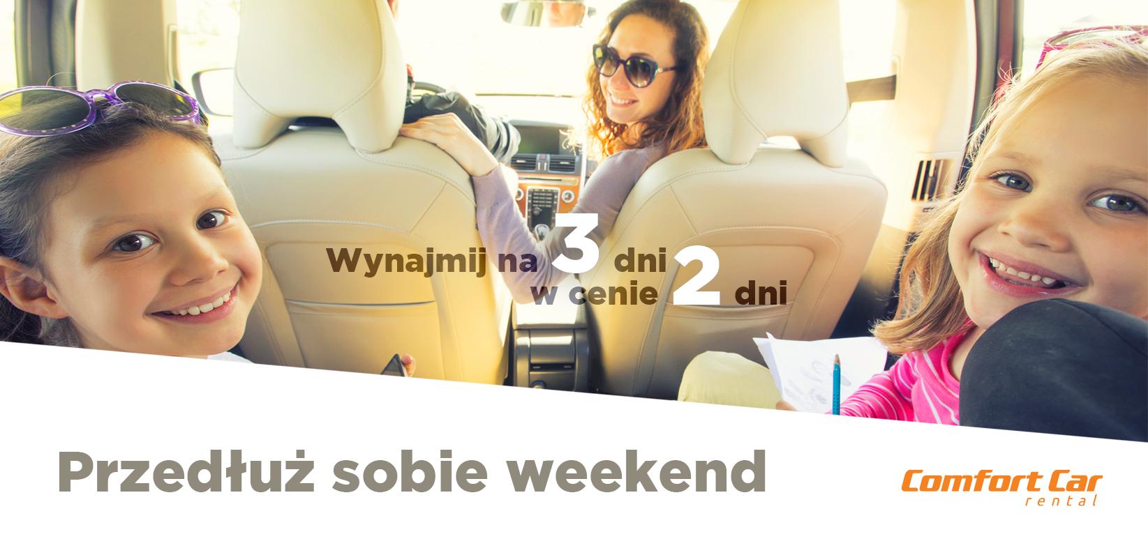 przedłuż sobie weekend 3 dni w cenie 2